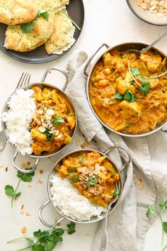 Warming and easy to make this vibrant Cauliflower and Chickpea Curry is packed with flavour. Perfect for a tasty weeknight dinner. Gluten Free Recipes For Dinner, Vegan Recipes Easy, Veggie Recipes, Easy Dinner Recipes, Indian Food Recipes, Vegetarian Recipes, Cooking Recipes, Dinner Ideas, Supper Ideas