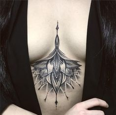 Sternum / Underboob Tattoo