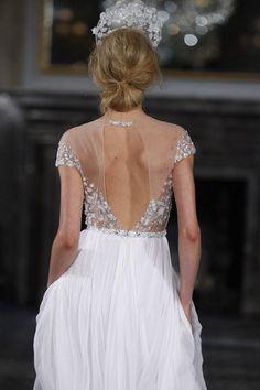 Baby got Back – 30 Showstopping Statement Back Wedding Dresses | SS 2016 NEW YORK BRIDAL | weddingsonline