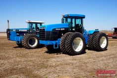 FORD 875 & NEW HOLLAND 9482 FWD's