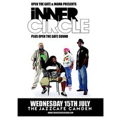 """London England - IT'S ALL ABOUT JULY 15TH!!! BAD BOYS OF REGGAE """"INNER CIRCLE"""" will be LIVE @ The Infamous & historic The Jazz Cafe - CAMDEN!!! Hosted by Dennis Bovell - Tickets £20 in advance £25 on the door!! Show time 7:00pm!! Have you purchased your tickets yet?? Press the link to find out more ... http://thejazzcafelondon.com/search/inner+circle ... #badboysofreggae #abebesmith #medianet55 #jazzcafecamden #camden #london #global #tour #stage #stageshow…"""