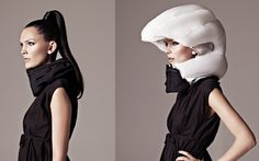 Hövding: cycling helmet in a scarf