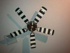 Sand Worms Ceiling Fan  i could do without the eyes but this is hysterical/amazing! perfect for my tim burton room!