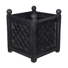 resinstone square lattice $639. Amedeo Design ResinStone Square Lattice Planter