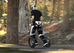 Segway inspired personal mobility vehicle by Bimal Rajappan