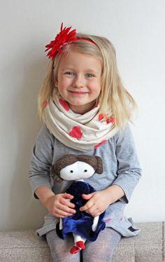 Делаем подарок маме — шарф с помощью штампов - Ярмарка Мастеров - ручная работа, handmade