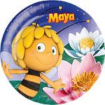 Maya the Bee Plates - 23cm Paper Party Plates