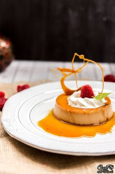 Silky Smooth Dulce De Leche Creme Caramel is the ultimate elegant dessert to whip up this Valentine's Day!