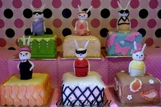 Fifi Lapin cakes on the Of My Stilettos and Spatula blog