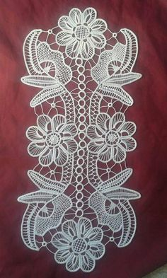 msz Crochet Motif Patterns, Macrame Patterns, Lace Patterns, Crochet Stitches, Cross Stitch Patterns, Irish Crochet, Crochet Lace, Romanian Lace, Bobbin Lacemaking
