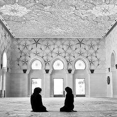 Women's prayer room in Sheikh Zayed Grand Mosque in Abu Dhabi