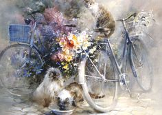 Bicycle race by Willem Haenraets