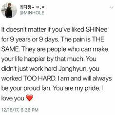 R.I.P KIM JONGHYUN. You've worked hard. . #Jonghyun #RIP #SHINee
