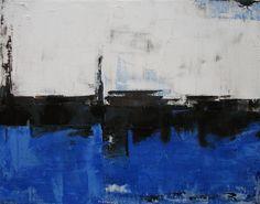 Black & Blue by Melissa Beah | oil painting | Ugallery Online Art Gallery