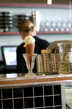 The Ice Cream Bar and Soda Fountain - 815 Cole St, Cole Valley