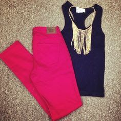 color combinations for clothes summer - Google Search