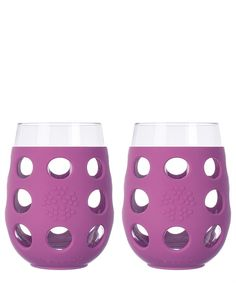 These eco-friendly wine glasses will be a hit at your next gathering.