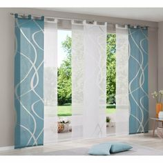 Find Models Suitable Curtains For Your Home Ikea Panel Curtains, Sliding Curtains, Curtains With Blinds, Window Coverings, Window Treatments, Japanese Blinds, Coastal Living Rooms, Modern Curtains, Curtain Designs