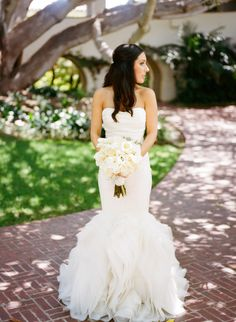 Romantic Santa Barbara Wedding From Erin Hearts Court: http://www.modwedding.com/2014/10/10/romantic-santa-barbara-wedding-erin-hearts-court/ #wedding #weddings #wedding_dress