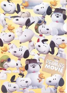 The Peanuts Movie Snoopy Family, Baby Snoopy, Snoopy Love, Snoopy And Woodstock, Charlie Brown Movie, Charlie Brown And Snoopy, Peanuts Movie, Peanuts Snoopy, Peanuts Comics
