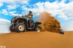 Amazing shoot of Quad desert bike @al madam desert Dubai Uae by Muhammad Yasir on 500px