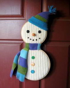 *Hoopie the snowman*