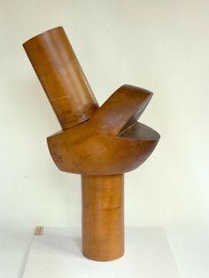 Jean Arp et Sophie Taeuber, Jalon, bois, 1938 Jean Arp, Pottery Sculpture, Wood Sculpture, Abstract Sculpture, Abstract Art, Sophie Taeuber Arp, Thinking In Pictures, French Sculptor, Concrete Art