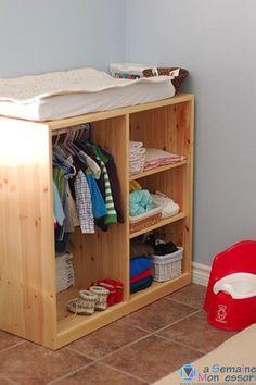 La chambre Montessori, simple et facile à organiser, permet au nouveau-né d'évoluer dans un environnement adapté à ses besoins : sommeil, éveil, sécurité...: