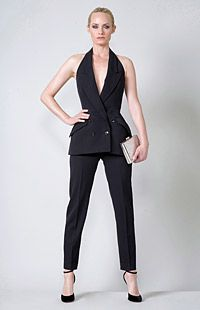 Love the proportions of the vest and length of the trousers