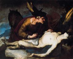 Luca Giordano - The Good Samaritan - Rouen. Musee des Beaux-arts