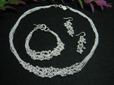 $8.99!!!  Sterling silver jewelry set