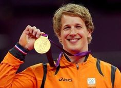 "Epke Zonderland  is a gymnast and 2012 Olympics gold medalist in the high bar. He also won the 2013 World Championship and the 2014 World Championship on the high bar. He is nicknamed ""The Flying Dutchman""."
