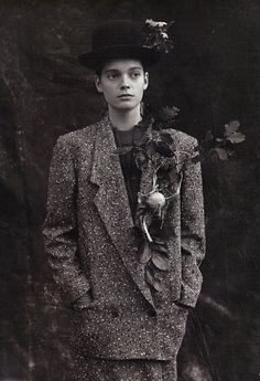 A Style That Could Grow on You photographed by Bruce Weber, 1984, Vogue.