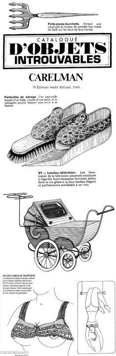 #269 ❘ Catalogue d'objets introuvables ❘ Jacques Carelman ❘ 1969