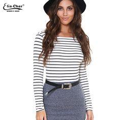 T shirt Women   Lady Tops Eliacher Brand Long Sleeve Women T-shirt Female Tee Plus Size Casual Women Top Clothing