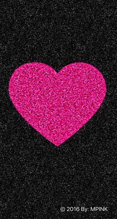 © 2016 Cute Sparkle Pink Heart Wallpaper