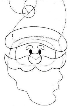 62 Santa Claus Template PaGi Decoplage Source by tanjastempel - Cute Christmas Tree, Snowman Christmas Ornaments, Felt Christmas Decorations, Felt Ornaments, Christmas Crafts, Felt Snowman, Cute Snowman, Felt Diy, Handmade Felt