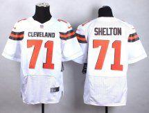 Cleveland Browns #71 Danny Shelton 2015 White Elite Jersey
