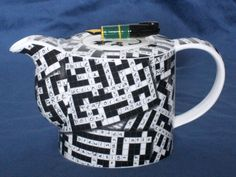 Collectible - good gift for crossword puzzle and tea drinker