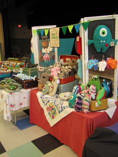 The Happy Groundhog Studio at the 2014 Crafty Supermarket at Music Hall