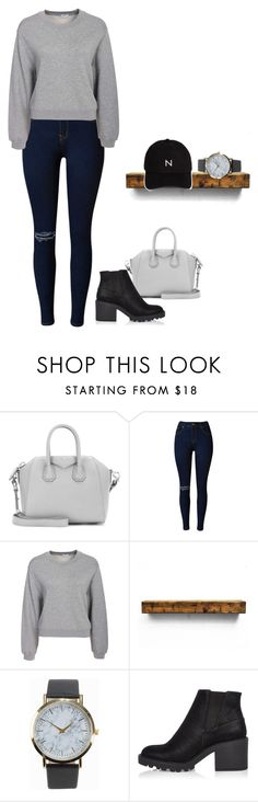 """""""Hockey Game in L.A With The Beckhams !"""" by creating-outfits ❤ liked on Polyvore featuring Givenchy, Filippa K, NLY Accessories, River Island and New Black"""