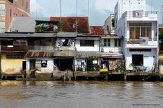 Mekong Delta - boat trip heading Cai be #Vietnam