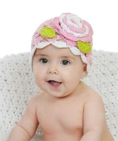 Rosenberry Rooms has everything imaginable for your child's room! Share the news and get $20 Off  your purchase! (*Minimum purchase required.) Light Pink Scallop Crochet Rose Hat #rosenberryrooms