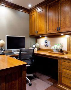 Jane Lockhart home office