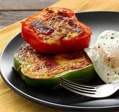 Paleo Pepper Rings with Bacon & Hash Browns Recipe