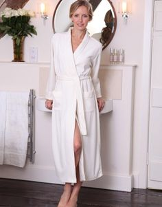 Cotton Rich Lightweight Towelling Dressing Gown | bloody munkins ...
