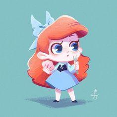 """k a g a m i ´𝕄𝕒𝕪_ 五月 on Instagram: """"Here comes Ariel !!! 🥳🥳🥳 #kagami Draws Disney's characters. - ♦Pixiv : kagami_may ♦Twitter : KAGAMI @kagami_may ♦Store : link in…"""""""