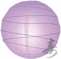 """16"""" Lavender Irregular Paper Lanterns - (10 Pack) by Asian Import Store, Inc.. $21.30. Each pack includes 10 x Paper Lanterns. Lavender round paper lanterns with an irregular bamboo ribbing and is held open with a wire expander.. (All lanterns sold without lighting, lighting options must be purchased separately). Dimensions: 16"""" dia. Round paper lantern with a irregular bamboo ribbing. Lantern is held open with a wire expander.  Dimensions: 16"""" dia  (All lanterns so..."""