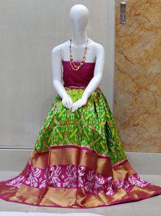Indian Handloom Sarees and Silks Pochampally Sarees, Ikkat Saree, Handloom Saree, Saree Gown, Lehenga Choli, Sari, Indian Skirt, Pure Silk Sarees, Gowns