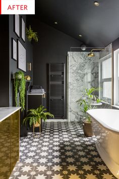 Before and After: This Is Not the Most Practical Bathroom, But It's Perhaps the Sexiest